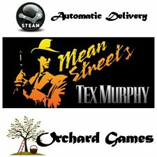 Tex Murphy : Mean Streets : PC MAC LINUX : Steam Digital : Auto Delivery