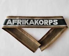 Bande de bras Ärmelband Bevo commemorative AFRIKAKORPS - REPRODUCTION