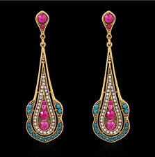 Chandelier Multi-Coloured Costume Earrings