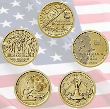 🇺🇸 American Innovation Coin Program US $1 Dollar 5 coins set UNC USA Mint 2019