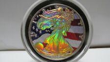 2006 COLORIZED/HOLOGRAM SILVER EAGLE 1 OUNCE $1 SILVER COIN