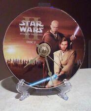 Handmade Star Wars Episode II Mace/Anakin DVD Desk Clock-UNIQUE! COLLECTIBLE!