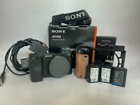 Sony Alpha A6400 24.2MP Digital Camera - Black (Body Only) WITH EXTRAS!!