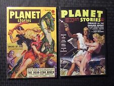 2009 PLANET STORIES - Pulp Fiction Reprints #4 5 VF-/VF LOT of 2 Adventure House