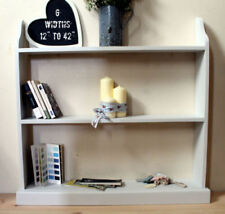 Handmade Rustic DVD 3 Shelves Bookcases, Shelving & Storage Furniture