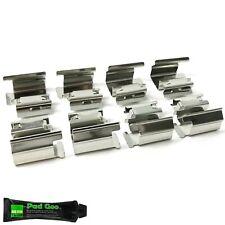 MITSUBISHI Evo 5 6 7 front étrier Pad guide plaque acier inoxydable vis shims