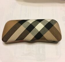Burberry MADE IN ITALY EYEGLASS_SUNGLASS CASE Brown White