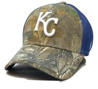 Kansas City Royals New Era Neo 39THIRTY Realtree Camo Flex MLB Baseball Hat
