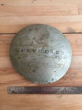 1941- 1946 Chevrolet truck dog dish moon poverty hubcap wall hanger Chevy sign