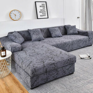 Sofa Cover Couch  Elastic Sofa Cover for Living Room Pets Corner L Shaped  Sofa