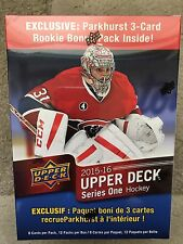 Nhl Upper Deck Series One 2015-16 Box. See Picture. Connor Mcdavid Young guns?
