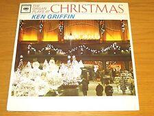"SEALED MONO POP CHRISTMAS LP - KEN GRIFFIN - COLUMBIA 692  ""THE ORGAN PLAYS..."""