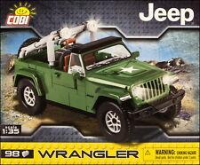 COBI Jeep Wrangler Military Green 1:35 (24095) - 98 elem.