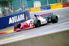 Gianni MORBIDELLI Footwork FA16 AUSTRALIAN GRAND PRIX 1995 Fotografia