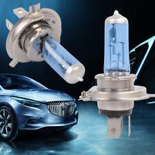 1set H4 Xenon Car Headlight Globes Halogen Bulb 6000K 100W 12V Super White Light