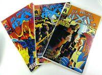 Marvel UK BLACK AXE (1993) #1 2 3 LOT Set RUN Deaths Head VF/NM Ships FREE!