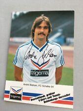 ANDRE BISTRAM FC Schalke 04 signed Autogrammkarte 10 x 15