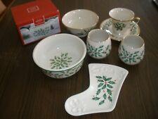 Lenox Holiday Accessories Bowls, Mug, Cup, Votives,etc  (YOU CHOOSE STYLE)  (L2)