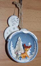 Disney Store Bambi Thumper Decoration Bauble Disneyland Paris tree Christmas