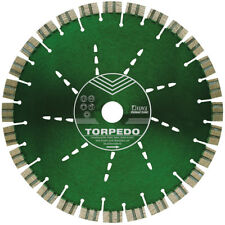DIEWE Torpedo Diamanttrennscheiben 12mm Segmenthöhe Diamantscheibe Beton Granit