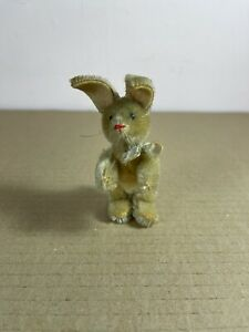 Schuco Antique Vintage Bunny Rabbit blond mohair