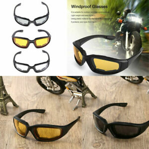 3x Motorcycle Dustproof Riding Glasses Smoke Clear Comfortable Windproof Goggles