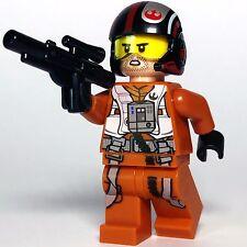 STAR WARS lego POE DAMERON resistance fighter pilot GENUINE 75102 trooper NEW