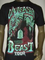 New Men's Beauty And The Beast Unleash Tour Dates Rose Theatre Disney Tee Shirt