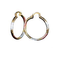 23f8f7be5 Brass Hoop Clip - On Fashion Earrings for sale | eBay