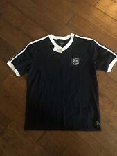 Brixton United Men's Navy T-shirt Size Small