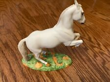 The Franklin Mint Great Horses of the World Porcelain Lipizzaner Statue 1989