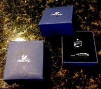 Swarovski Crystal  Ink Well w/ Rhodium Feather Quill Original Box