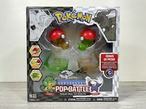 Pokemon Black And White POP N BATTLE Rivalry Pack Toys NEW AND SEALED 2011 Rare