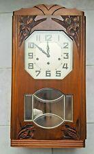 Carillon ODO 8 tiges 8 marteaux Westminster  caisse noyer Art Déco