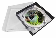 Retrieving Labradors 'Love You Dad' Glass Paperweight in Gift Box Chri, DAD-63PW