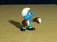 Smurfs 40508 Boxer Smurf Boxing Figure Germany Vintage PVC Toy Figurine Rocky