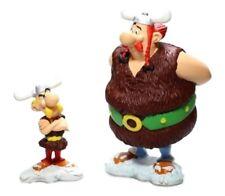 2 figuras Asterix y Obelix 14 cms PLASTOY nuevas sin abrir.