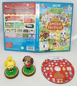 Wii U Animal Crossing Amibo Festival + Marie + Digby Amiibo VGC FAST POST