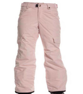 686 Girls Lola Insulated Snowboard Pant (S) Dusty Pink L9W802-DSPK