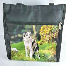 Australian Shepherd Dog Canvas Bag