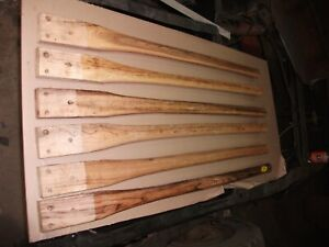 """Firefighter Bush Brush Axe Brush Hook 40"""" long  Wood Handle hickory"""