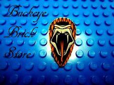 Lego HARRY POTTER Ovoid SHIELD - Open Mouth Snake Slytherin Pattern 4730