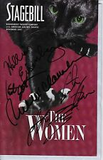 Rue McClanahan, Cynthia Nixon ++ Signed THE WOMEN Broadway Playbill
