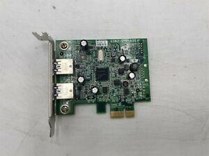 DELL 0FWGJ8 USB 3.0 DUAL PORT PCIE LOW PROFILE EXPANSION CARD