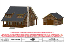 CD 228-HOUSE FLOOR PLAN, SQFT, 1,882 3 BEDROOM, 2 1/2 BATH, CABIN STYLE