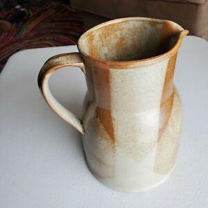 Iron Mountain Stoneware Brown Roan Nancy Lamb Pitcher 2 1/2 Qt
