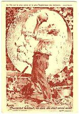 CPA Carte Publicitaire Fantaisie Pasteur Vins