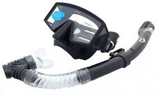 Frameless 3-Windows Mask & Dry Snorkel Silicone Set WIL-DS-35WB