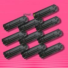 10 Non-OEM Alternative BLACK TONER for HP CB435A 35A LaserJet P1005 P1006 P1003