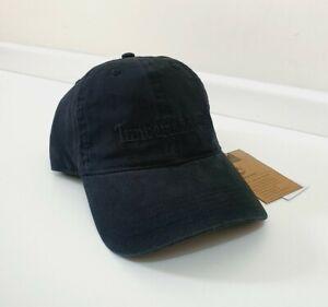 Timberland Southport Cotton Black Embroidered Logo Baseball Cap